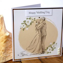 C3486 - Happy Wedding Day Card 10