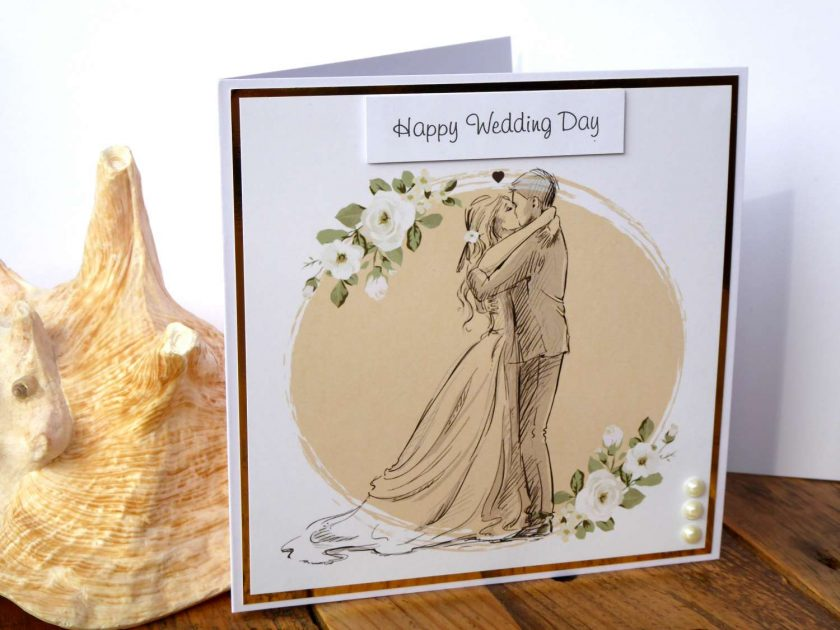 C3486 - Happy Wedding Day Card 5