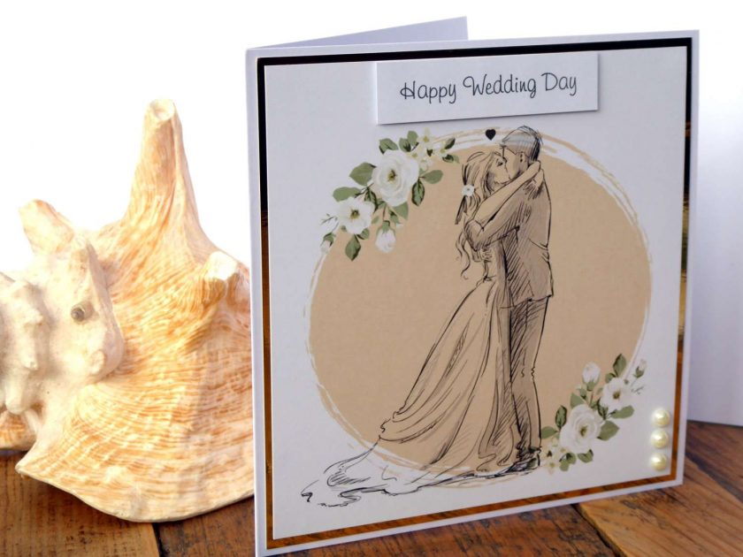 C3486 - Happy Wedding Day Card 6