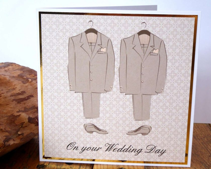 C3484 -Male - On your Wedding Day Card 1