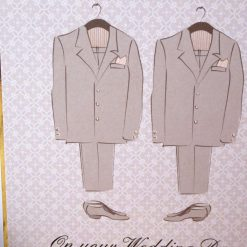 C3484 -Male - On your Wedding Day Card 5