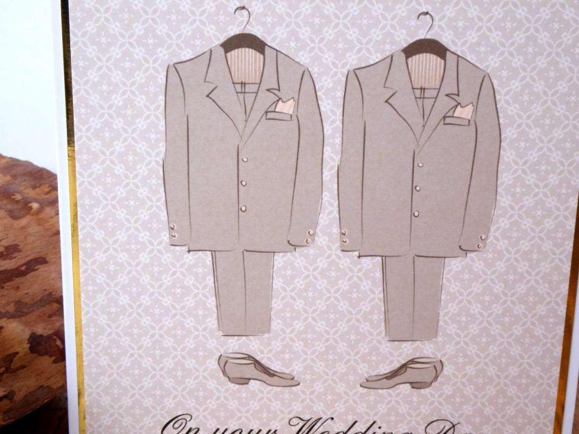 C3484 -Male - On your Wedding Day Card 2
