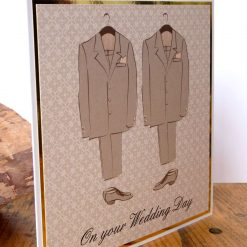 C3484 -Male - On your Wedding Day Card 6