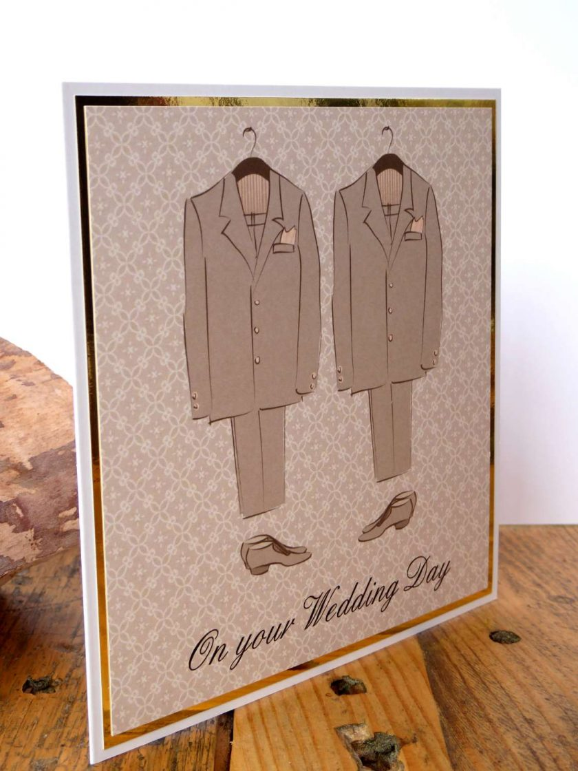 C3484 -Male - On your Wedding Day Card 3