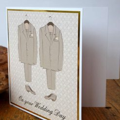 C3484 -Male - On your Wedding Day Card 7