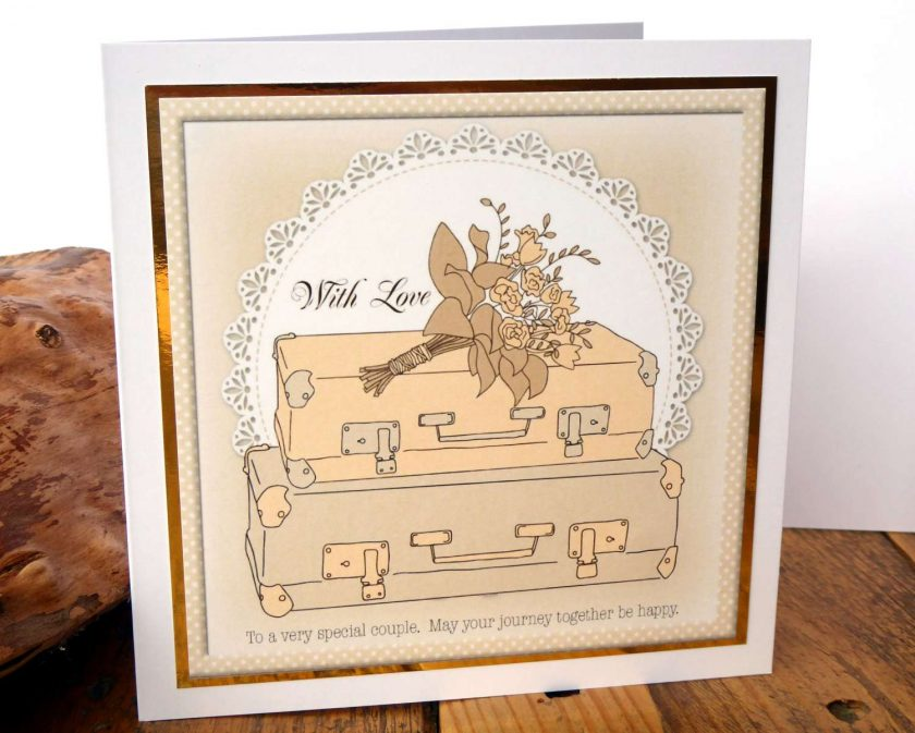 C3485 - Wedding Card 1