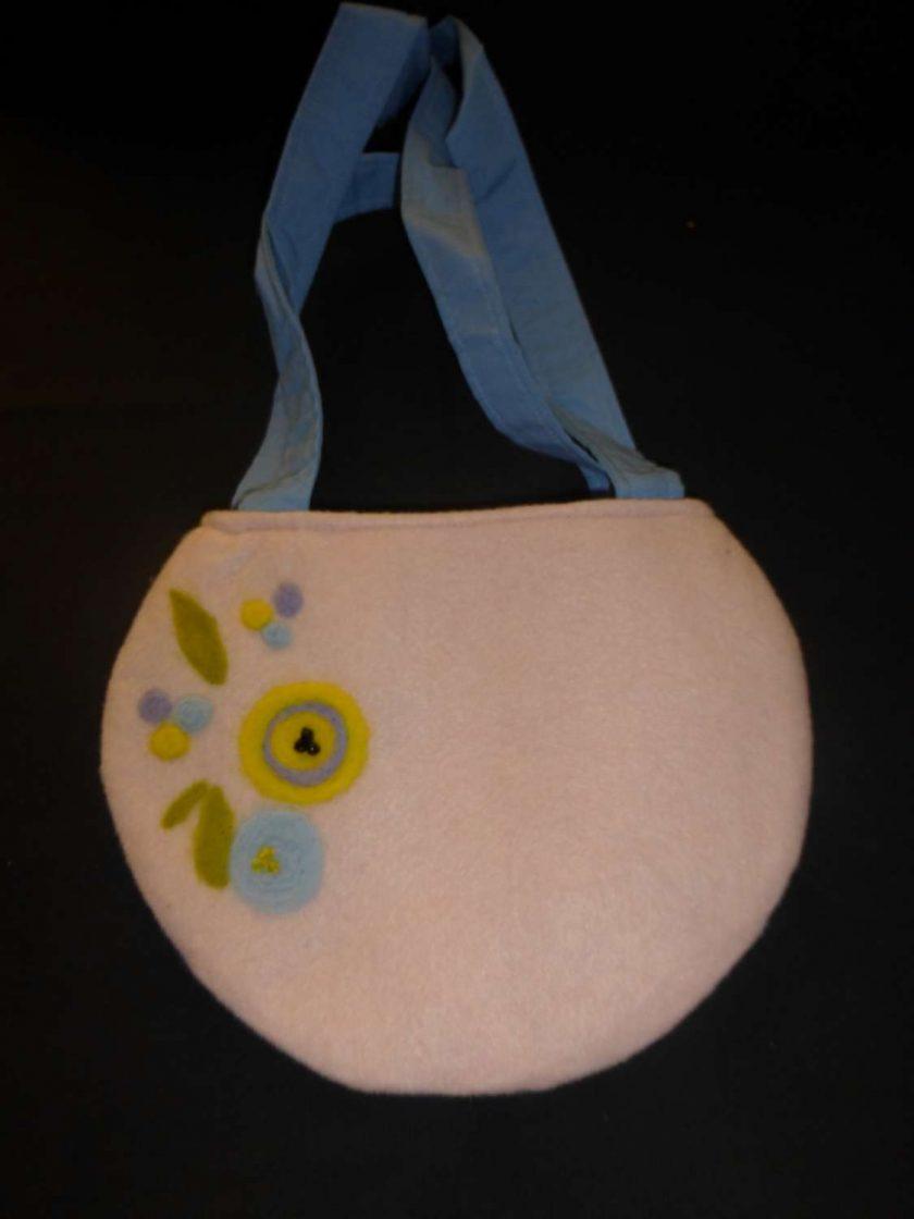 Ladies Needle Felted Handbag 1