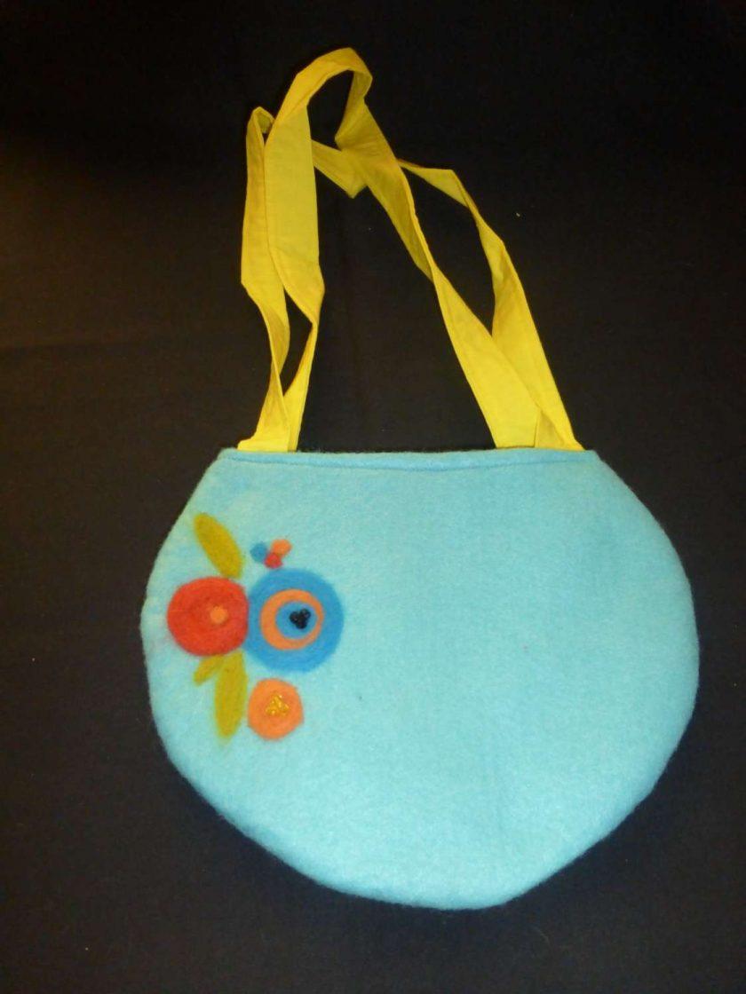 Ladies Hand Needle Felted Handbag 1