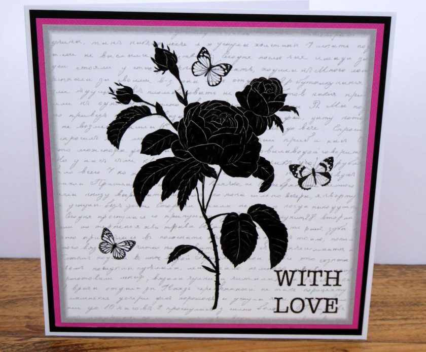 C3393 -  With Love Card 1