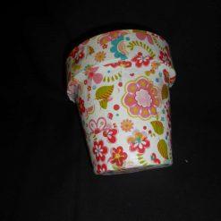 Decorative Decopatch Flower Pot 5