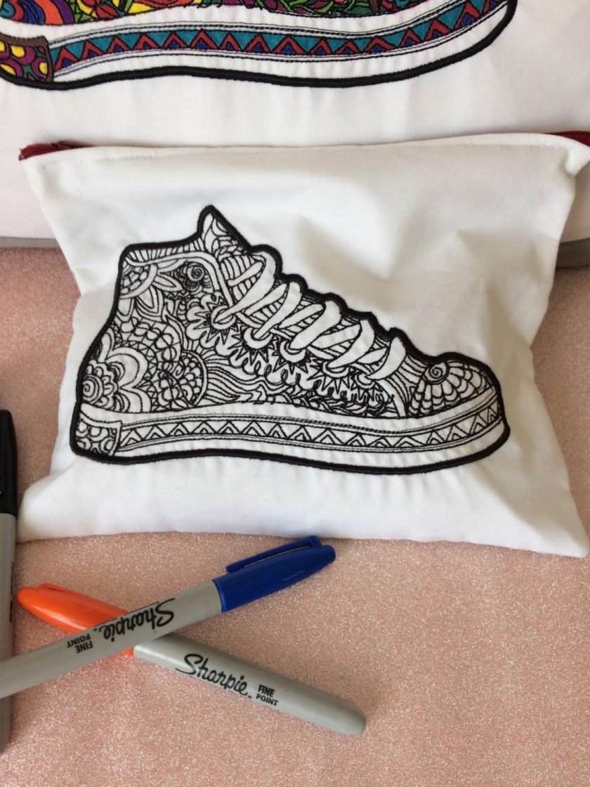 Pencil case toiletry bag or make up bag 2