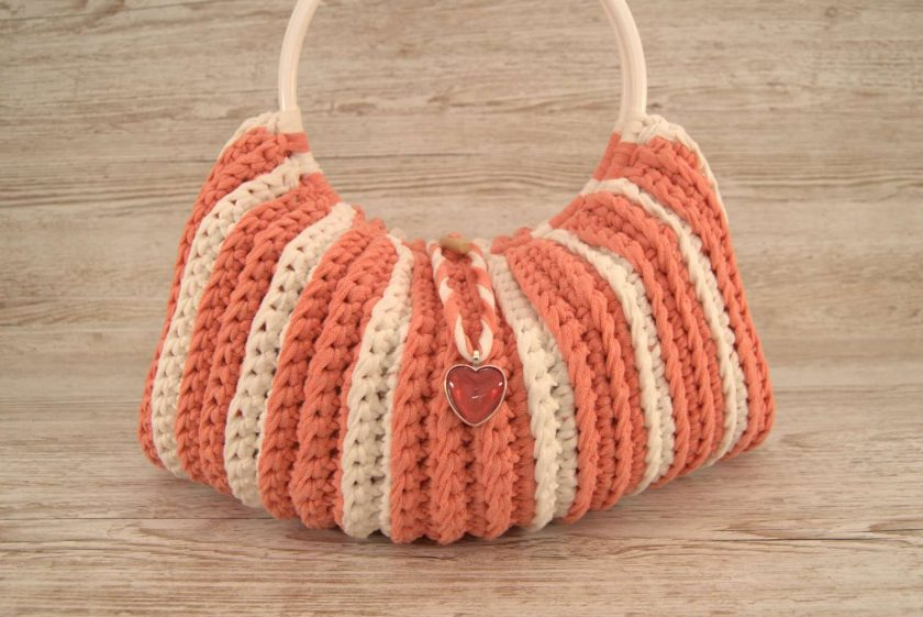 Handbag Peaches and Cream 1