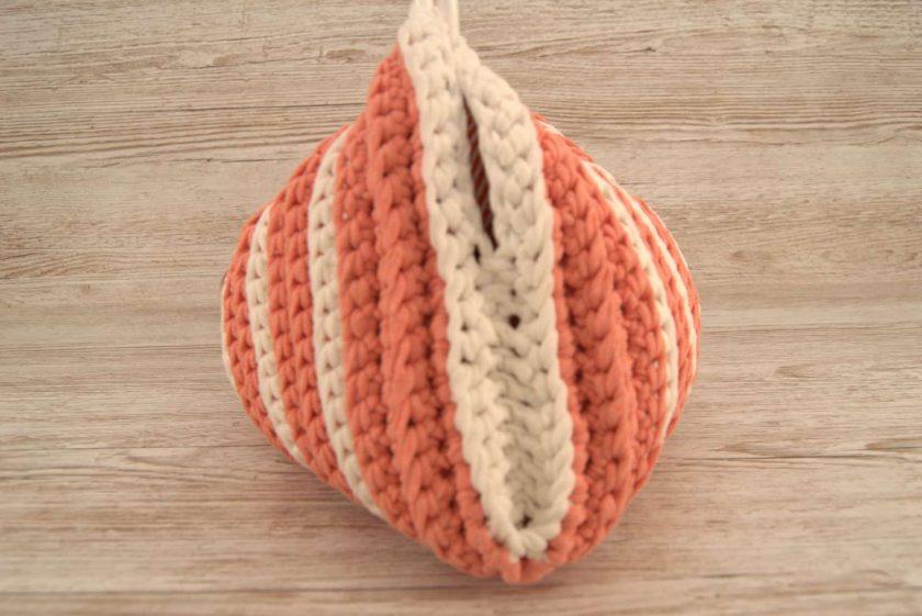 Handbag Peaches and Cream 5