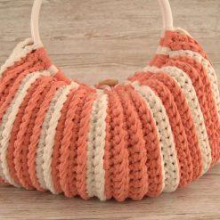 Handbag Peaches and Cream 8