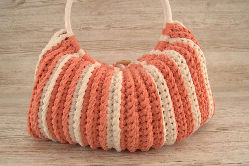 Handbag Peaches and Cream 4