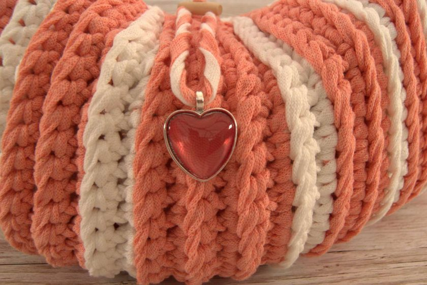 Handbag Peaches and Cream 3