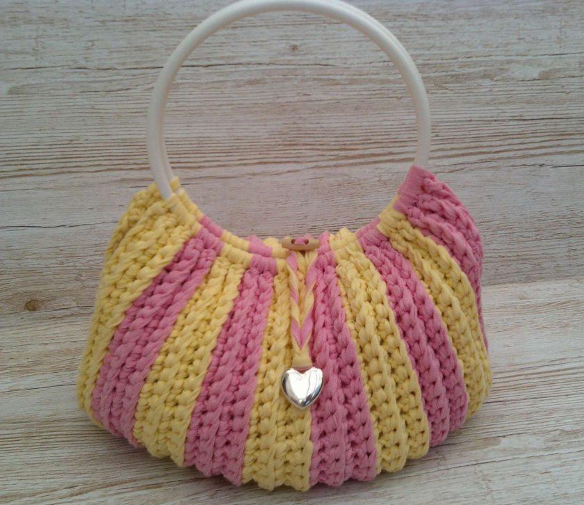 Handbag Rhubarb and custard 1