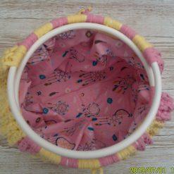 Handbag Rhubarb and custard 7