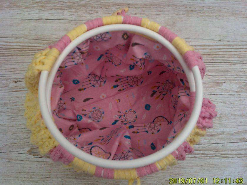 Handbag Rhubarb and custard 4