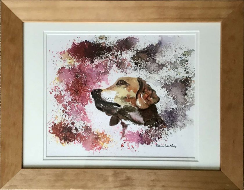 Original Watercolour painting, framed 1