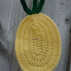 Pineapple Tropical Fruit Crochet Bunting Home Decor Gift FREE UK POSTAGE 4