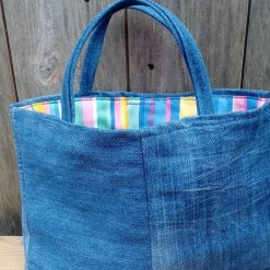 Kids Handbag (from recycled jeans) Lollipop Fully Lined Bag Gift Tote FREE UK POSTAGE 11