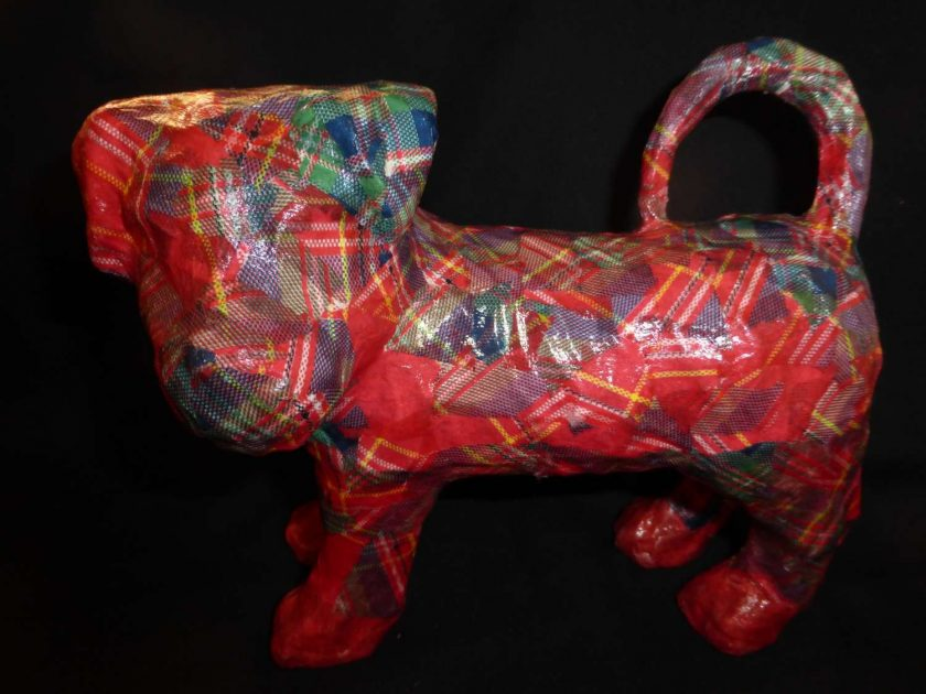 Terrier Decopatch Ornament 2