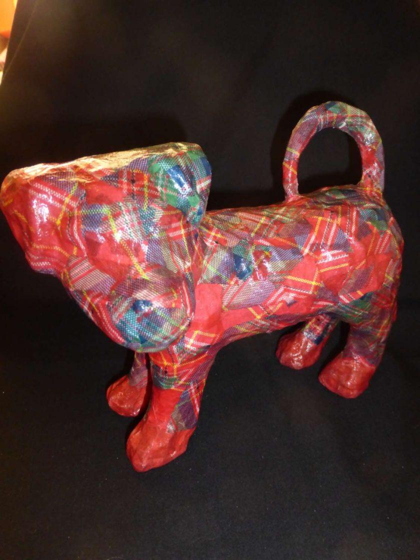 Terrier Decopatch Ornament 1