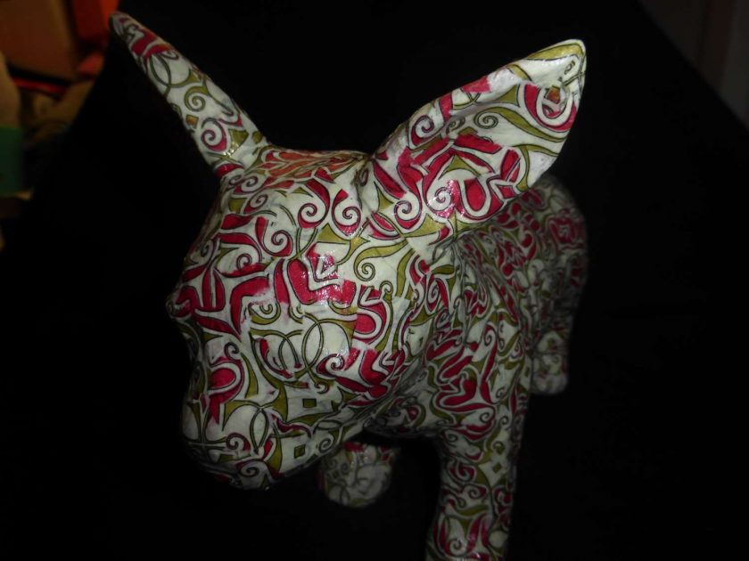 Chihuahua Decopatch Ornament 2