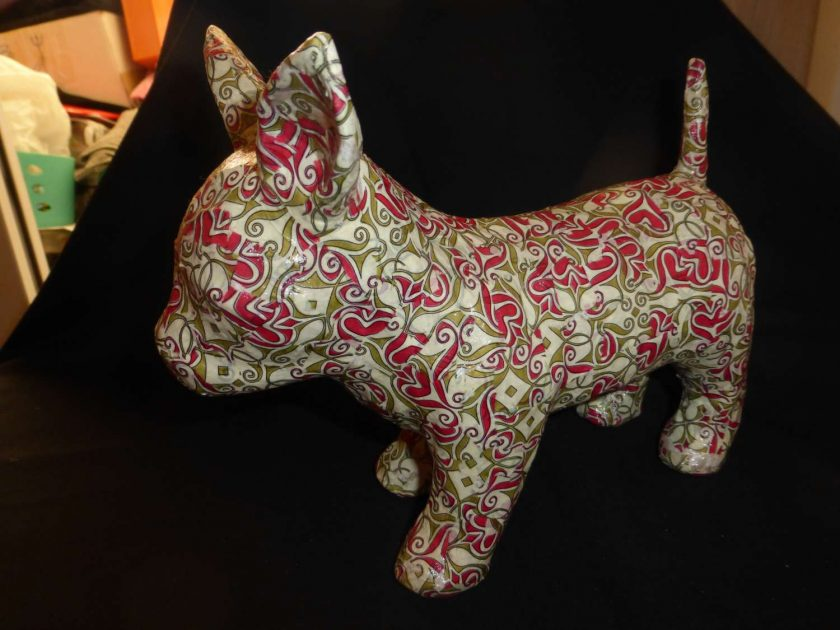 Chihuahua Decopatch Ornament 1
