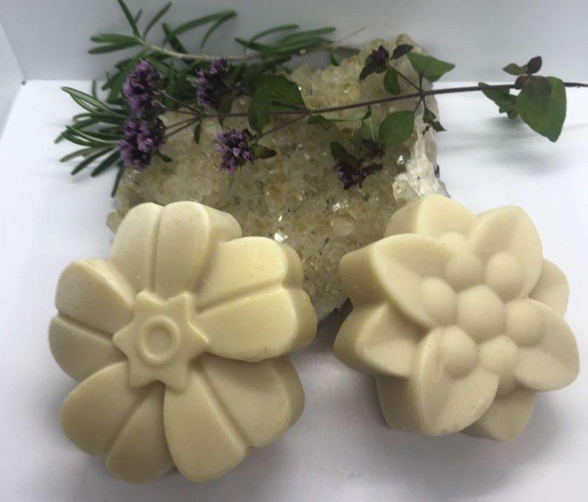Natural, Vegan, Sensitive Skin Soap with Olive Oil and Almond Milk 1