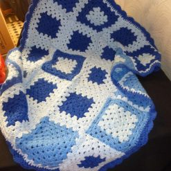Crochet Baby Blanket for Crib, Push Chair and Car Seat 3