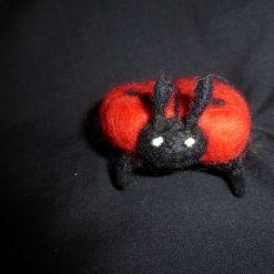 Ladybird Hand Needle Felted Ornament 3