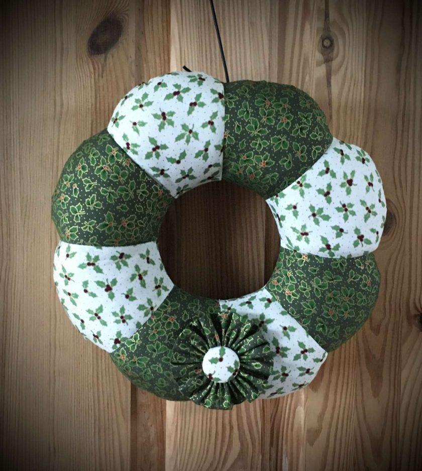 Christmas Padded Wreath 1