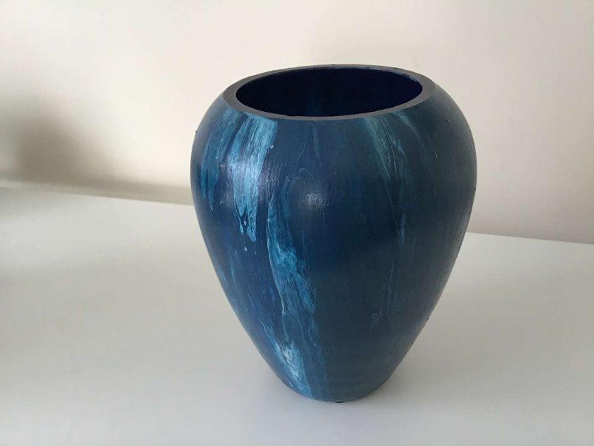 Original Upcycled  Glass Vase 1