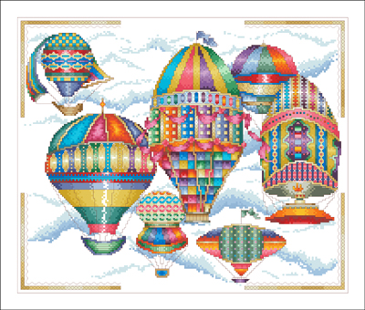 18th Century Balloons 1