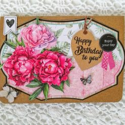 Handmade Floral Birthday Card 3