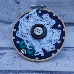 Embroidery hoop hanging decorations 6