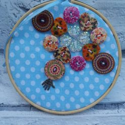 Embroidery hoop hanging decorations 7