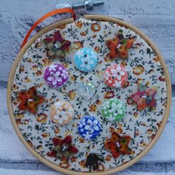 Embroidery hoop hanging decorations 9