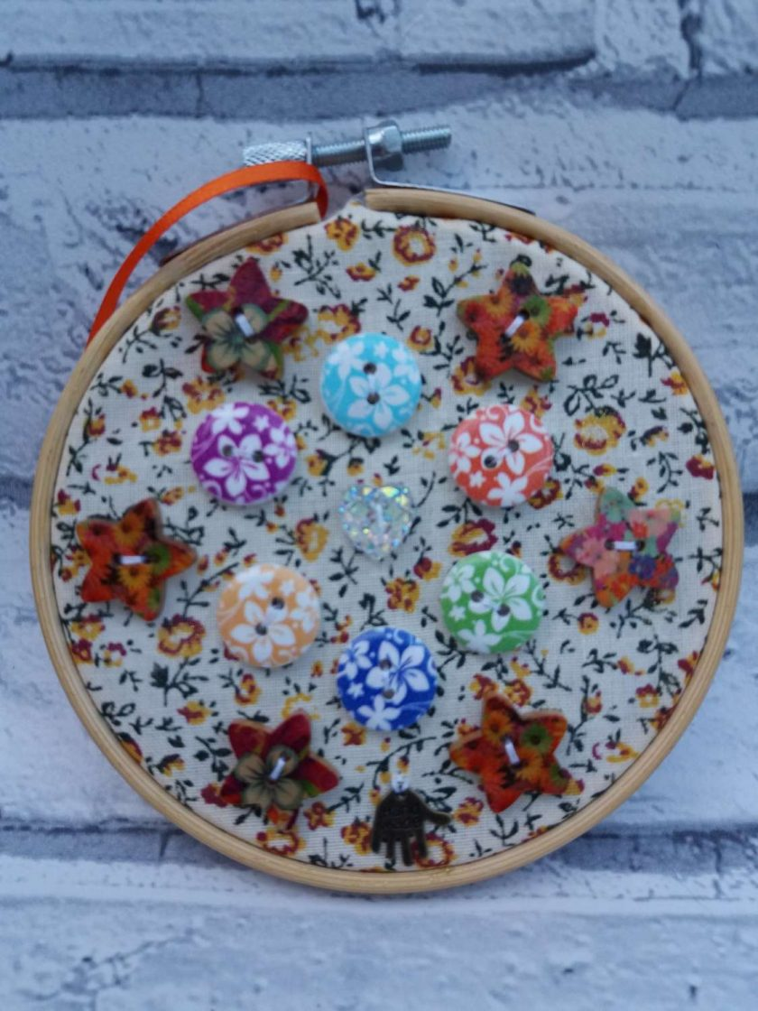 Embroidery hoop hanging decorations 5