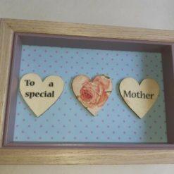 handmade special mother frame