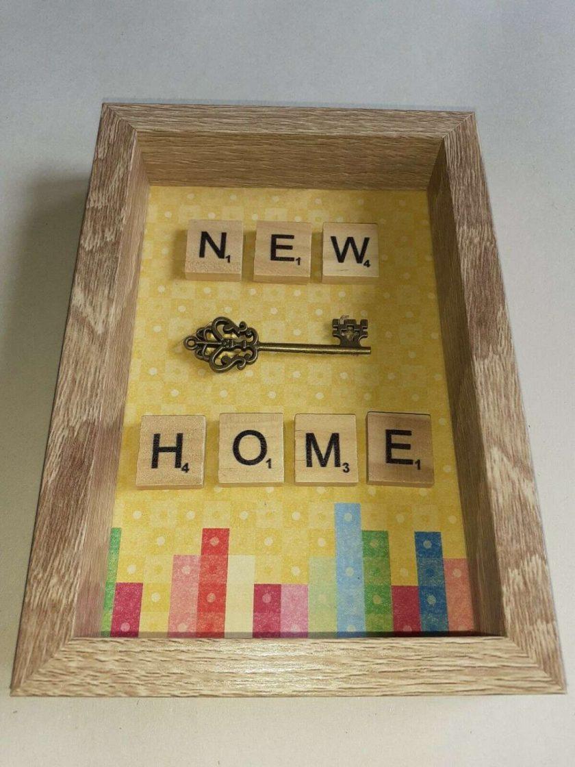 Handmade new home frame 1