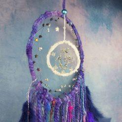 Moon and stars dreamcatcher 5