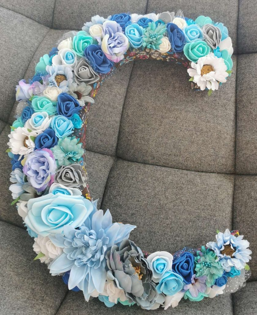 Flowery letters/numbers made to order 1