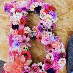 Flowery letters/numbers made to order 7
