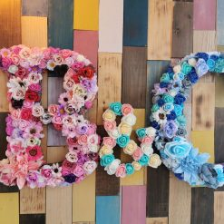 Flowery letters/numbers made to order 8