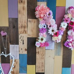 Flowery letters/numbers made to order 10