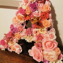 Flowery letters/numbers made to order 11