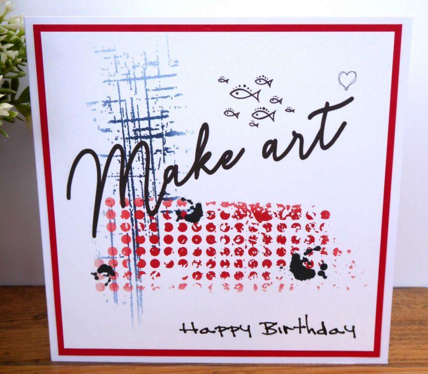 C3500 - Happy Birthday Card 1